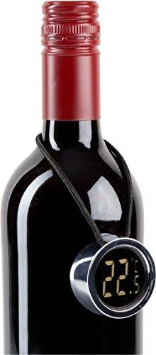 Weinthermometer Digital zum Umhängen Auslieferung ohne Wein Weinthermometer Manschette aus Kunststoff