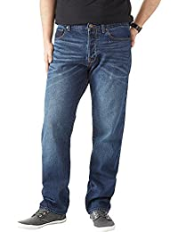 Charles Wilson Men's Straight Fit Premium Denim Jeans