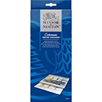 Winsor & Newton Cotman Watercolor Studio Set, 45 Half Pans