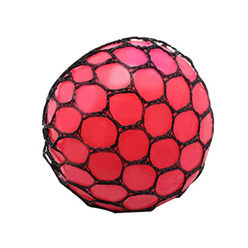 Anti-Stress-Ball Grape-Ball-Spaß Splat Grape Venting Toy Squeeze Reliever Spielzeug Geräte zufällige Farbe