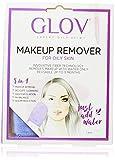 GLOV On The Go, Limpiador Facial Piel Sensible, Desmaquillador Facial solo con Agua, Desmaquillante Ojos Waterproof, Limpiador Facial, Producto Natural Reutilizable hasta 3 Meses