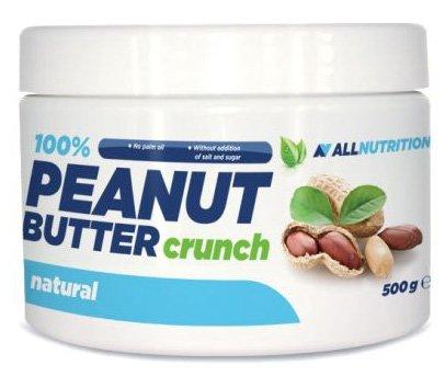 High-protein-mahlzeit-ersatz-shakes (ALLNUTRITION 100% Peanut Butter Crunch Erdnussbutter Peanut Butter Aufstrich Proteine Frühstück 500g)
