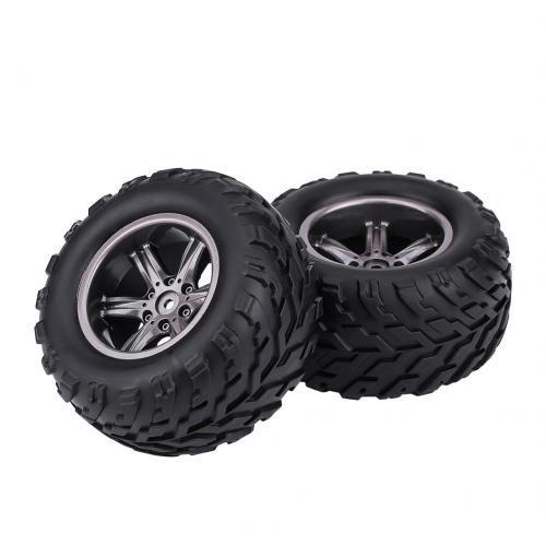 RC Auto Reifen 2 Stück RC Crawler Reifen RC Rad Reifen für 1/12 RC Auto Truck Crawler