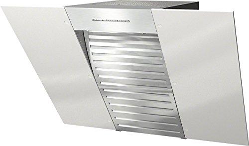 Miele DA6086W BRWS Wandhaube /79,8 cm / brillantweiß / Kopffreiheit mit Glasschirm in 80 cm Breite, Leistungsstark - 650 m³/h in der Intensivstufe