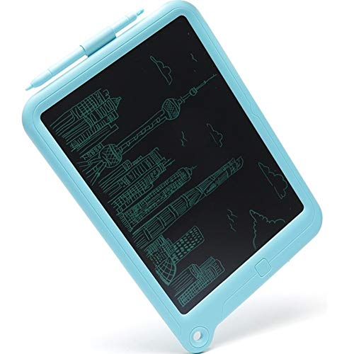 Moerc Umweltschutzhandbemalte Tafel Seismic Drop Resistanceelectronic Board Handschrift Puzzle Board LCD Schreibtafel LCD Zeichenbrett Message Board (Color : Blue, Größe : S)