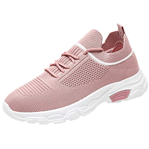 POLPqeD Scarpe Running Sneakers Donna Sport Scarpe da Ginnastica Fitness Respirabile Mesh Corsa Leggero Casual all'Aperto