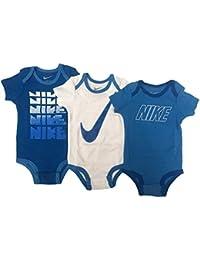 45d395433 Nike 3 Pack niño bebé Bodies para