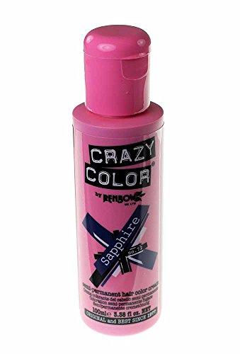 Crazy Colour Saphir Haarfärbe-Spray, 100 ml.