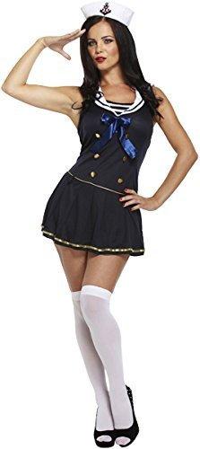 Imagen de disfraz adulto sexy marinero azul