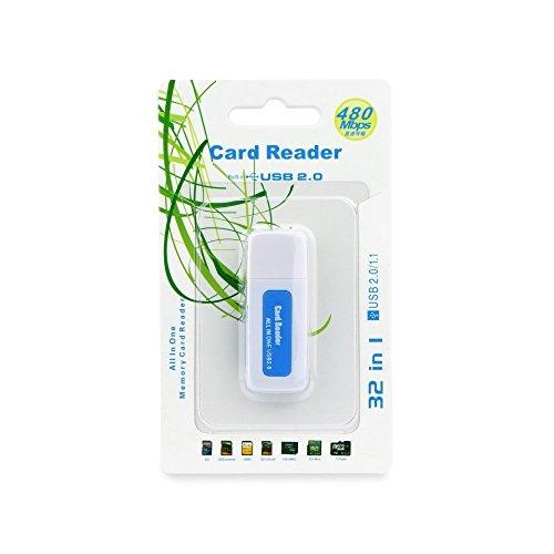 Lector tarjetas SD/SDHC/MMC/RS-MMC/Mini-SD/Micro-SD/TF/XD/MS/DUO/PRO
