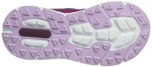 Viking Unisex-Kinder Hel Ii Outdoor Fitnessschuhe Pink (Plum/Dark Pink)