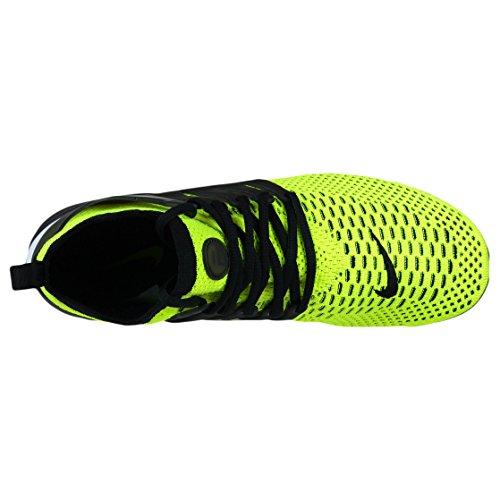 Nike Air Presto Flyknit Ultra, Scarpe da Corsa Uomo, Blu, 42 EU Verde (Volt / Black-White)