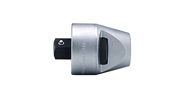 3//4-Inch Bahco 8951 BH8951 Ratchet Adaptor with 60 Teeth//6 Degree Action Angle Grey
