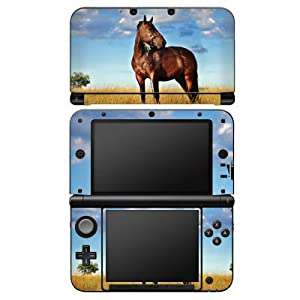 DeinDesign Nintendo 3 DS XL Case Skin Sticker aus Vinyl-Folie Aufkleber Pferd Stute Hengst