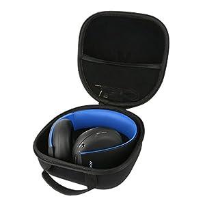 Teckone EVA Hart Reise Tragetasche Tasche Für Sony PlayStation PS 4/PS3/PS Vita Wireless Stereo Headset Headphones Kopfhörer/PlayStation DualShock 4 Wireless Controller. Mesh Pocket Für Zubehör