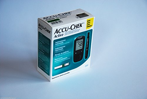 roche-accu-chek-active-blood-glucose-meter-monitor-10-test-strips