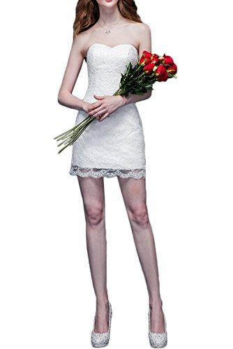 Ivydressing -  Vestito  - linea ad a - Donna Bianco