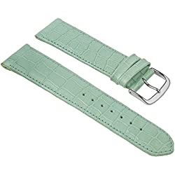 Birkenstock Louisiana Fashion Replacement Band Watch Band Leather Kalf turquoise 20382S, width:12mm
