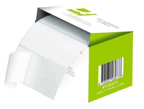 Q connect, etichette adesive, 89 x 36 mm, 250 pz.