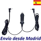 Cargador Coche Mechero 12V Reemplazo Reproductor DVD Best Buy Easy Player DVD Dual con 2 Salidas Recambio Replacement