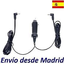 Cargador Coche Mechero 12V Reemplazo Reproductor DVD BELSON DUAL 91 con 2 Salidas Recambio Replacement