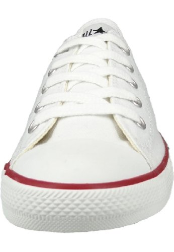 Converse As Dainty Ox, Baskets mode mixte adulte Blanc