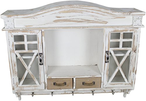 Decoline Holz Wandschrank Garderobe -