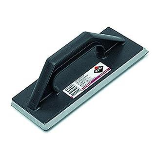 Rubi 65972 Llana de goma para juntas de plástico, Negro