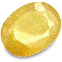 5.25 Ratti Pitambari Neelam Yellow Sapphire Certified