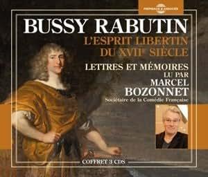 Lettres et Memoires Lu par Marcel Bozonnet