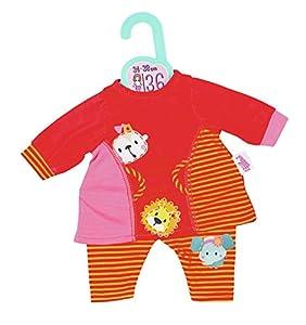 Zapf Dolly Moda Summerdress+Leg 2 Ass. 36cm Juego de ropita para muñeca - Accesorios para muñecas (Juego de ropita para muñeca, 1 año(s), Multicolor, Niño, Chica, 34 cm)