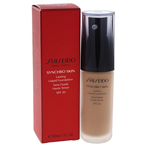 Shiseido Synchro Skin Lasting fond de teint liquide Rose 5 30 ml