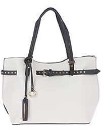 Fur Jaden White Women's Tote Handbag For Women With Sling Bag Combo