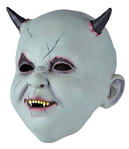 Bristol Novelty BM516 Baby Teufel Maske Latex (One Size)