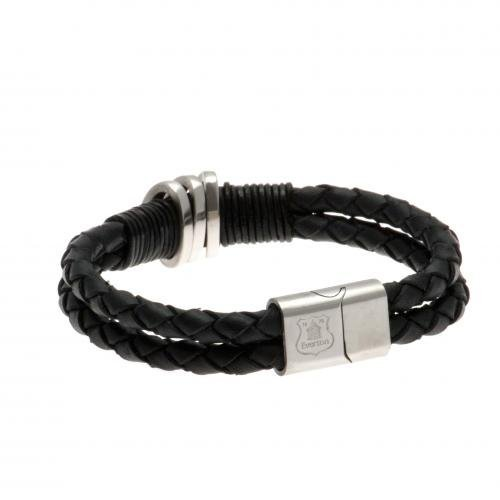 Leather Bracelet - Everton F.C by Footie Gifts