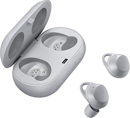 Samsung Gear IconX (2018) Dentro de oído Binaural Inalámbrico Gris - Auriculares (Inalámbrico, Dentro de oído, Binaural, Intraaural, 16 g, Gris) [Versión importada: Podría presentar problemas de compatibilidad]
