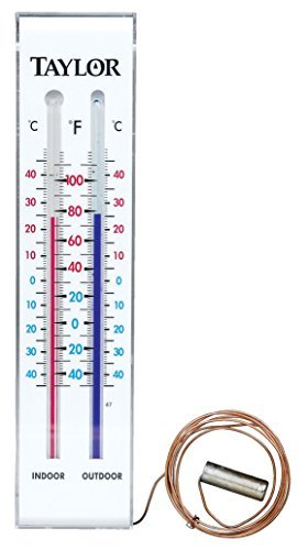 Taylor Indoor & Outdoor Thermometer by Taylor (Thermometer Taylor)