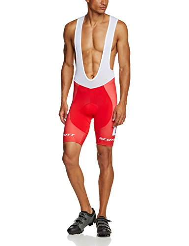 Odlo Herren Tights Short Suspenders Racin, Scott Suisse 2015, L, 490182 (Bike-shorts-leggings-strumpfhosen)