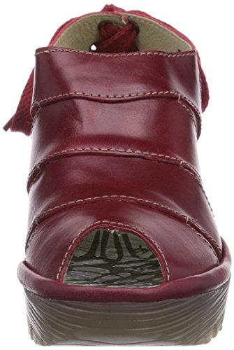 Fly London Yown, Ballerines Femme Rouge (Red)