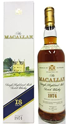 Macallan - Single Highland Malt - 1974 18 year old