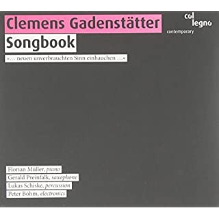 Gadenstatter: Songbook - Akkor (d/t)anz / Songbook 0-11 for Persussion, Piano and Electronic Amplification (2008-08-12)
