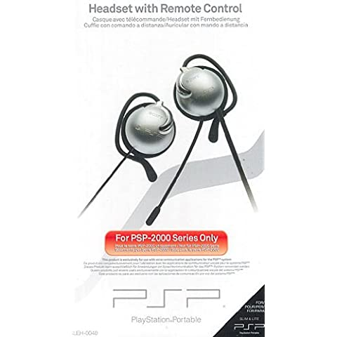 PSP - Headset / Remote Control 2000