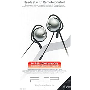 PSP – Headset / Remote Control 2000