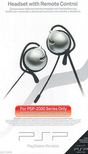 PSP - Headset / Remote Control 2000 (Portable Headset Sony)