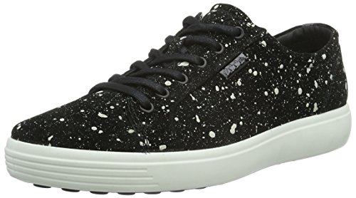 Ecco Soft 7, Baskets Basses Homme Noir (BLACK05001)
