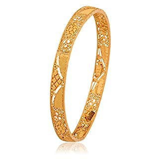 10 Gram Yellow Gold Bangle for Women – Senco Gold