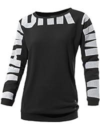 Reebok - Sweat-shirt - Femme noir Schwarz
