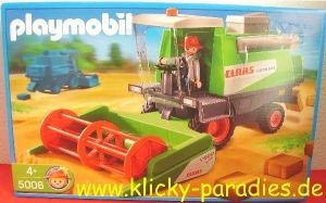 Playmobil Mähdrescher Claas Lexion