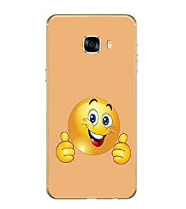 PrintVisa Designer Back Case Cover for samsung galaxy C7 (casual limitles lingires combo western)