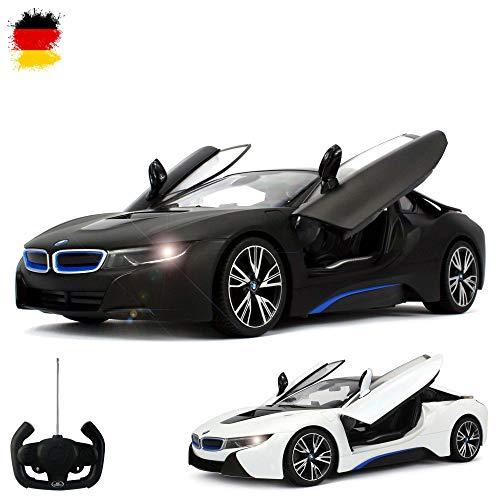 HSP Himoto BMW i8 Vision Limited Edition - RC ferngesteuertes Lizenz-Fahrzeug im Original-Design, Flügeltüren fernbedienbar, Modell-Maßstab 1:14, Ready-to-Drive, Auto inkl. Fernsteuerung